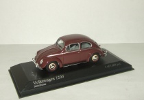 Фольксваген VW Volkswagen Beetle Kafer 1200 Minichamps 1:43 430052106