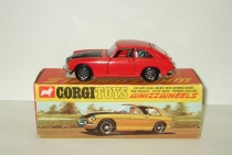 MG MGB MGC GT 1966 Corgi Toys Whizzwheels 1:43 Made in Gt Britain