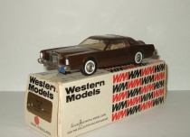 Линкольн Lincoln Continental Mark IV 1976 Western Models 1:43 WP102