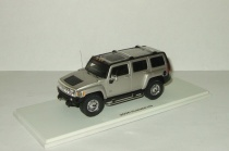 Хаммер Hummer H3 4x4 2006 Luxury Collectibles 1:43
