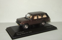 Land Rover Range Rover 3.5 4x4 1978 IXO Whitebox 1:43