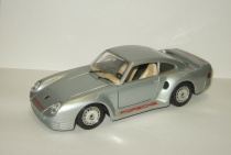 Порше Porsche 959 1985 Bburago Made in Italy (1990-е) 1:24