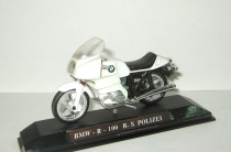 мотоцикл БМВ BMW R 100 R S Polizei Police 1979 Guiloy 1:24 Made in Spain