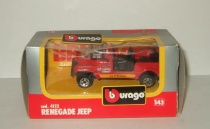 Джип Jeep CJ-7 Renegade 4x4 Bburago 1:43 Made in Italy 1990-е