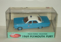 Плимут Plymouth Fury Arkansas Police USA 1975 White Rose Collectibles 1:43