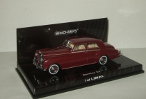 Бентли Bentley S2 Standard Saloon 1960 Minichamps 1:43 436139951
