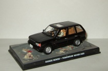 "Range Rover 1997 + фигурки серия Джеймс Бонд Агент 007 ""Tomorrow Never Dies"" Universal Hobbies 1:43"