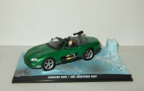 "Ягуар Jaguar XKR + фигурки серия Джеймс Бонд Агент 007 ""Die Another Day"" Universal Hobbies 1:43"