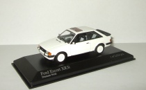 Форд Ford Escort III XR3i 1982 Minichamps 1:43 400085070