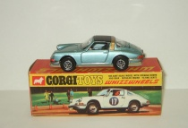 Порше Porsche 911 S Targa 1979 Corgi 1:43 Made in GT Britain