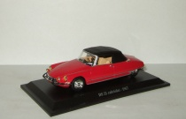Ситроен Citroen DS21 Cabriolet 1967 Universal Hobbies 1:43