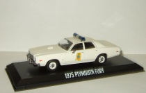 "Plymouth Fury ""Mississippi Highway Patrol"" Police 1975 фильм Смоки и бандит Greenlight 1:43"