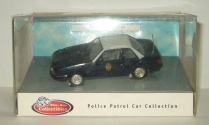 Форд Ford Mustang Kansas Highway Patrol Police USA 1991 White Rose 1:43