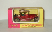 Stutz 1914 Y-8 Models of Yesteryear Matchbox 1:43