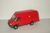 Фиат Ивеко Феррари Fiat Iveco Turbo Daily Scuderia Ferrari Old Cars 1:43