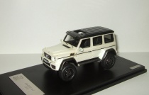 Мерседес Бенц Mercedes Benz G Classe G500 4x4² (W463) 2015 Metallic White Гелендваген GLM 1:43 205701