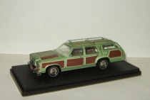 Форд Ford LTD Country Squire Truckster Wagon Queen 1979 фильм Каникулы Greenlight 1:43