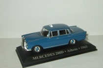 Мерседес Бенц Mercedes Benz 200 D W110 Taxi Athens 1965 IXO Altaya 1:43