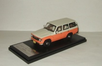 Тойота Toyota Land Cruiser 60 Flex Dream 1982 4x4 4WD Amber/White Hi-Story 1:43 HS061SP2