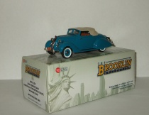 Terraplane Custom Six Convertible Coupe Hudson Blue 1936 Brooklin Models 1:43