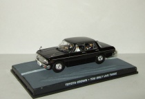 "Тойота Toyota Crown 1969 + фигурки серия Джеймс Бонд Агент 007 ""You only live twice"" Universal Hobbies 1:43"