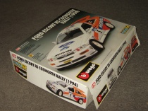 коробка Форд Ford Escort RS Cosworth Rally 1994 Bburago 1:24 Made in Italy