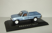 Пежо Peugeot 504 4x4 Pick-up Пикап Dangel California 1985 Norev 1:43 475451