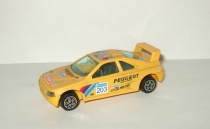 Пежо Peugeot 405 Bburago 1:43 Made in Italy 1990-е