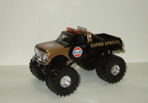 Chevrolet K-10 Monster Truck Bigfoot Gulf Oil Super Special Бигфут Монстр трак 1971 Greenlight 1:43