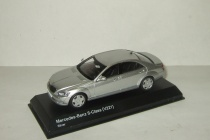 Мерседес Бенц Mercedes Benz S Class S600L (W221) 2009 Kyosho 1:43 03632SS