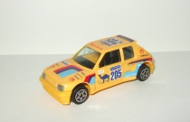 Пежо Peugeot 205 Turbo 16 Ралли Париж Дакар 1984 Bburago 1:43 Made in Italy Ранний
