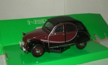 Ситроен Citroen 2CV 6 Charleston 1980 Welly 1:24