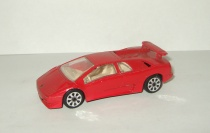 Ламборгини Lamborghini Diablo Красный Bburago 1:43 Made in Italy 1990-е