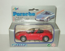 Порше Porsche Boxster 1998 Welly 1:38