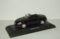 Лексус Lexus SC430 2004 Черный J-Collection 1:43