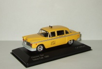 Checker Taxi Cab 1980 Такси Нью Йорк Whitebox 1:43