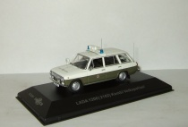 Ваз 2102 Жигули Lada Volkspolizei Police DDR IST Cars & Co 1:43  CCC057