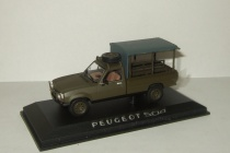 Пежо Peugeot 504 Pick-up 4x4 1979 Army Norev 1:43 475454