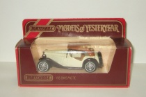 MG TC 1945 Y-8 Models of Yesterday Matchbox 1:43