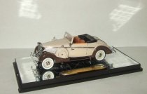 Майбах Maybach SW38 1937 2-door sportcabriolet (brown / biege) Signature 1:43 PM-43705-2