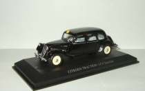 Ситроен Citroen Traction 11 CV Familiale 1957 Черный Norev 1:43 153018