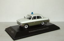 Москвич 412 АЗЛК 1972 Volkspolizei DDR Police IST Cars & Co 1:43 CCC094